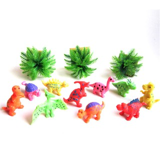 10pcs Dinosaur Toy Plastic Dinosaur Model Action & Figures Best Gift for Boys
