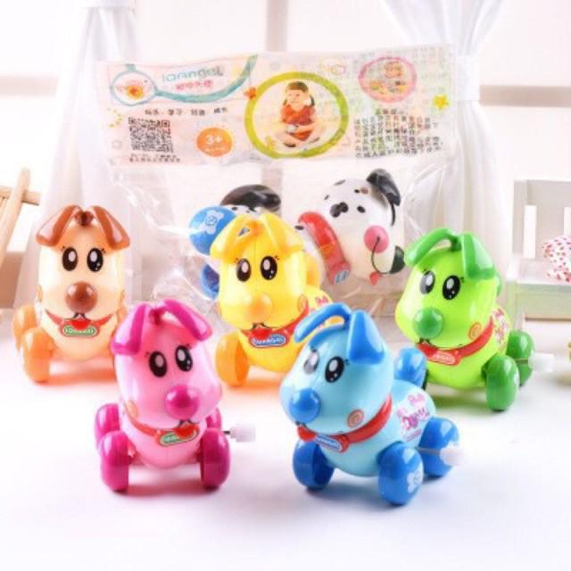Đồ chơi vặn cót hình con Cún IQAngel ,đồ chơi trẻ em,đồ chơi dễ thương,đồ chơi đáng yêu