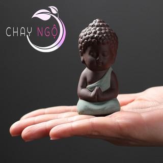 Bộ 4 tượng Phật chấp tay 6