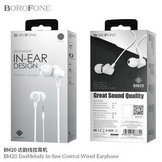 Tai nge nhạc Borofone BM20 chính hãng Bảo hành 6 tháng trên toàn Quốc, tương thích với tất cả dòng máy điều hành android