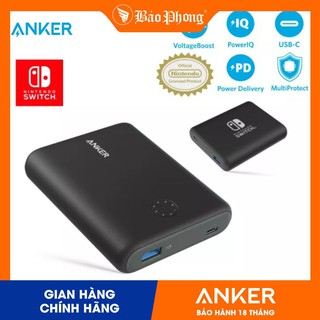 Pin dự phòng Anker A1241 PD PowerCore 13400 mAh Nintendo Switch Edition- BH 18 tháng thumbnail