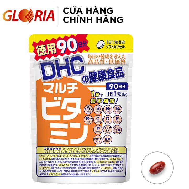 Viên uống DHC Nhật Bản Multi Vitamin Tổng Hợp