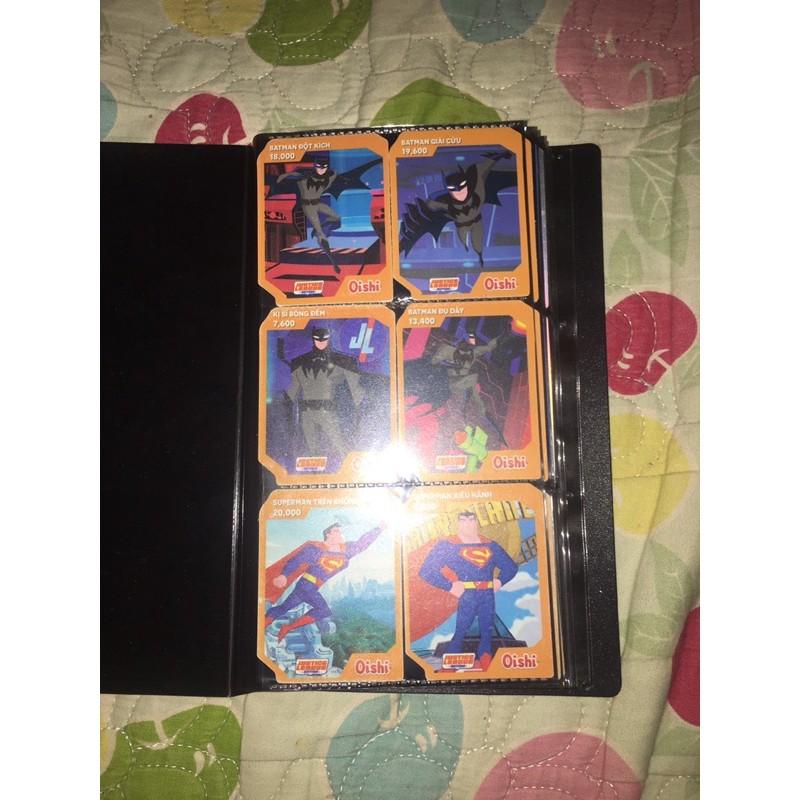 thẻ oishi DC và teentitan go