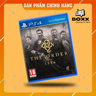 [Mã 157ELSALE hoàn 7% đơn 300K] Đĩa game PS4 The Order 1886 thumbnail