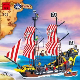 Đồ chơi lắp ráp lego tàu cướp biển pirates enlighten 308.