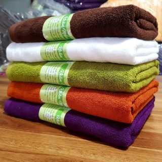 [KHĂN TẮM CAO CẤP] [ẢNH THẬT] 100% Cotton, Dày Dặn Mềm Mịn, Không Ra Màu, Không Sổ Lông, Thấm Hút Nước Tốt