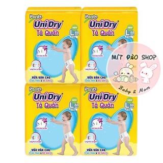 Tã Quần Unidry Ultra Jumbo M74 L68 XL62 XXL56 (bịch đại)