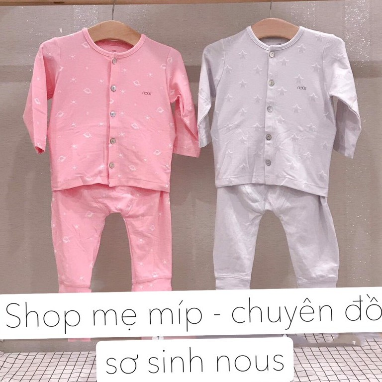Bộ Nous Cài Thẳng Dài Cho Bé - Shop Mẹ Míp 89B Dốc Ph