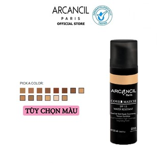 Kem nền có độ che phủ cao Cover Match Arcancil 25ml thumbnail