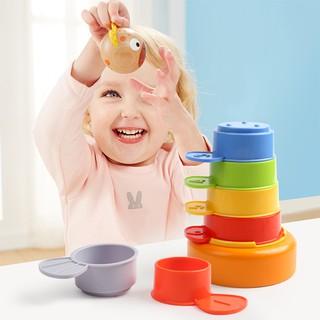 Bộ cốc đồ chơi puzzle cho bé xếp hình phát triển trí tuệ