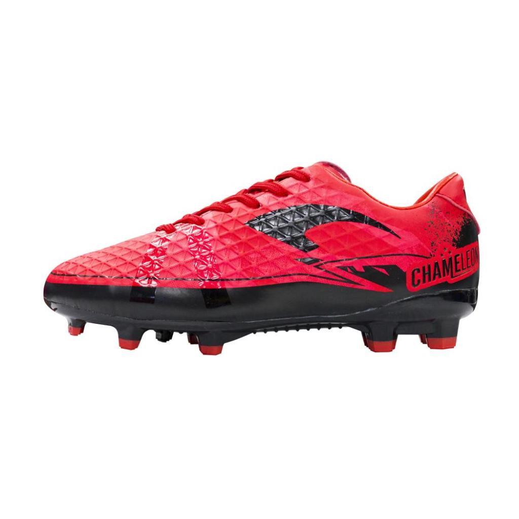 Gloves Sports equipment รองเท้าฟุตบอลแกรนด์สปอร์ต คะมีเลี่ยน  333081  (สีแดง)loves Sports equipment รองเท้าฟุตบอลแกรนด์ส