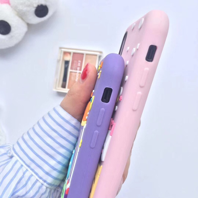 💕 LC Casing iPhone X 6s 7 8 Plus Star Disney TPU+Silicone Hard Protective Case Casing