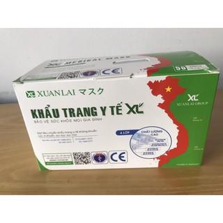 Comboo 5 hộp khẩu trang y tế 4 lớp kháng khuẩn - Xuân Lai chính hãng thumbnail