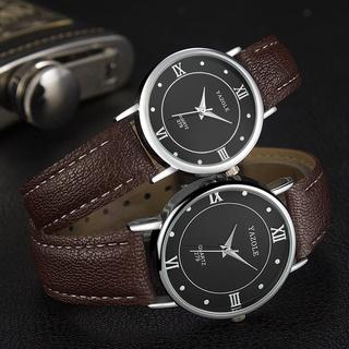 Đồng hồ đôi nam nữ Yazole 279 dây da sang trọng + Tặng hộp đồng hồ thumbnail