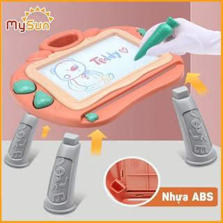 Bảng vẽ điện tử [FREESHIP] từ trắng tự xóa CAO CẤP cho bé, có chân thông minh 2in1 chuyển thành bàn tập viết vẽ – MySun