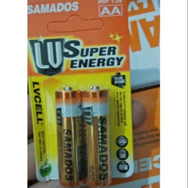 1 vĩ 2 Pin AA LVCELL super energy