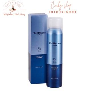 [HOT HOT] Xịt chống nắng Wellderma G Plus Cooling Sun Spray SPF 50 PA+++ thumbnail