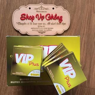 Bao Cao Su Gia Đình VIP Plus Hộp 144 Chiếc thumbnail
