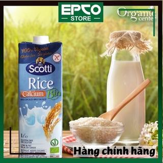 SỮA GẠO ĂN KIÊNG RISO SCOTTI CANXI BIO ( HỘP 1L) – BIO Calcium Rice Milk
