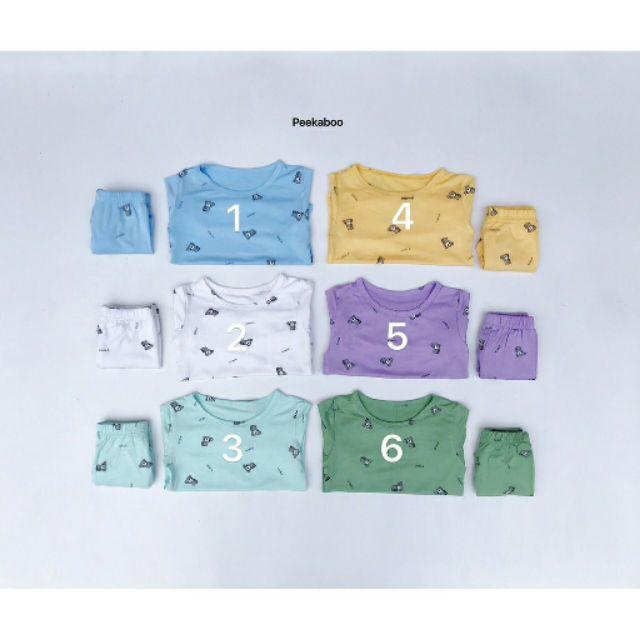 Bộ Body thun lạnh hoạt hình dài tay 8-18kg QATE407, quần áo trẻ em