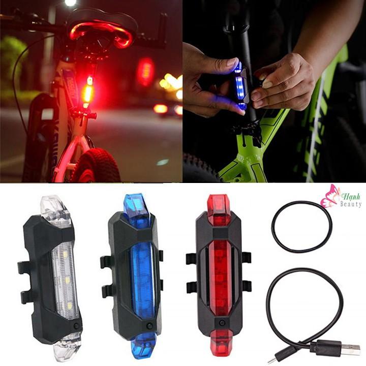 Đèn hậu xe đạp thể thao sạc usb - Rẻ nhất TPHCM