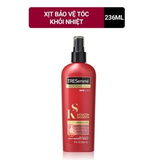 Xịt bảo vệ tóc khỏi nhiệt TRESemme Keratin Smooth 236ml thumbnail