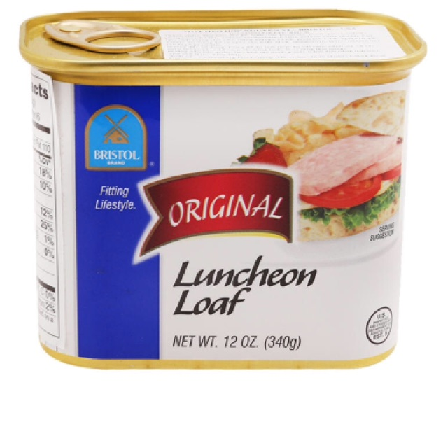 Thịt hộp Luncheon Loaf Bristol 340g - 2578494 , 285680882 , 322_285680882 , 115000 , Thit-hop-Luncheon-Loaf-Bristol-340g-322_285680882 , shopee.vn , Thịt hộp Luncheon Loaf Bristol 340g
