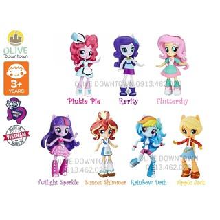 BỘ 7 nhân vật My Little Pony 13cm như hình