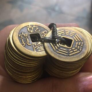 combo 10 Đồng tiền xu âm dương kích tài vận