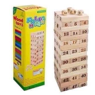 Đồ chơi rút gỗ loại lớn