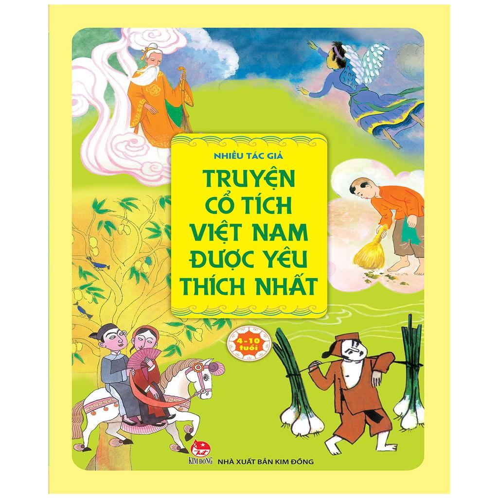 Truyện cổ tích Việt Nam được yêu thích nhất