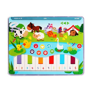 Children Early Education Tablet Toy Lighting