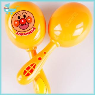 2pcs Baby Rattle Newborn Hand Drum Dell Infant Hammer Rattle Shaking Toy Children's Gift