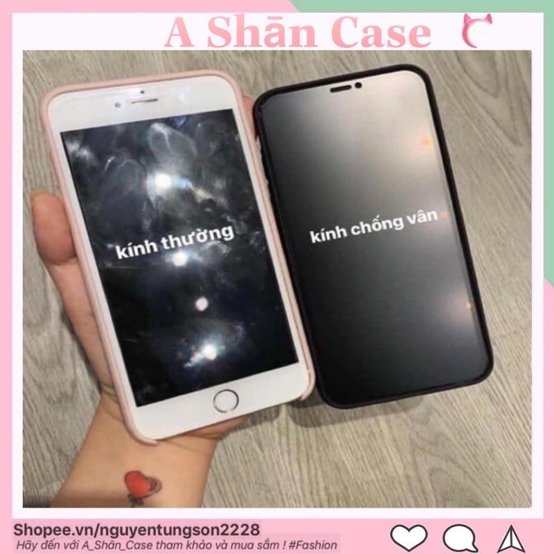 (Free ship 50k)Kính cường lực Iphone Nhám Chống Vân Tay AG Siêu phẩm chống bám, chống bẩn, chống bụi tuyệt đối