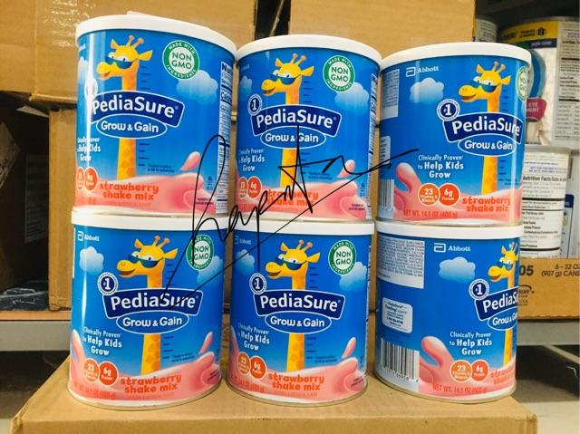 [Mã 267FMCGSALE giảm 8% đơn 500K] [ Ship air- có bill] Sữa pediasure mỹ grow & gain 400g