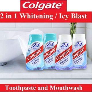 KEM ĐÁNH RĂNG COLGATE 2IN1 WHITENING TOOTHPASTE & MOUTHWASH