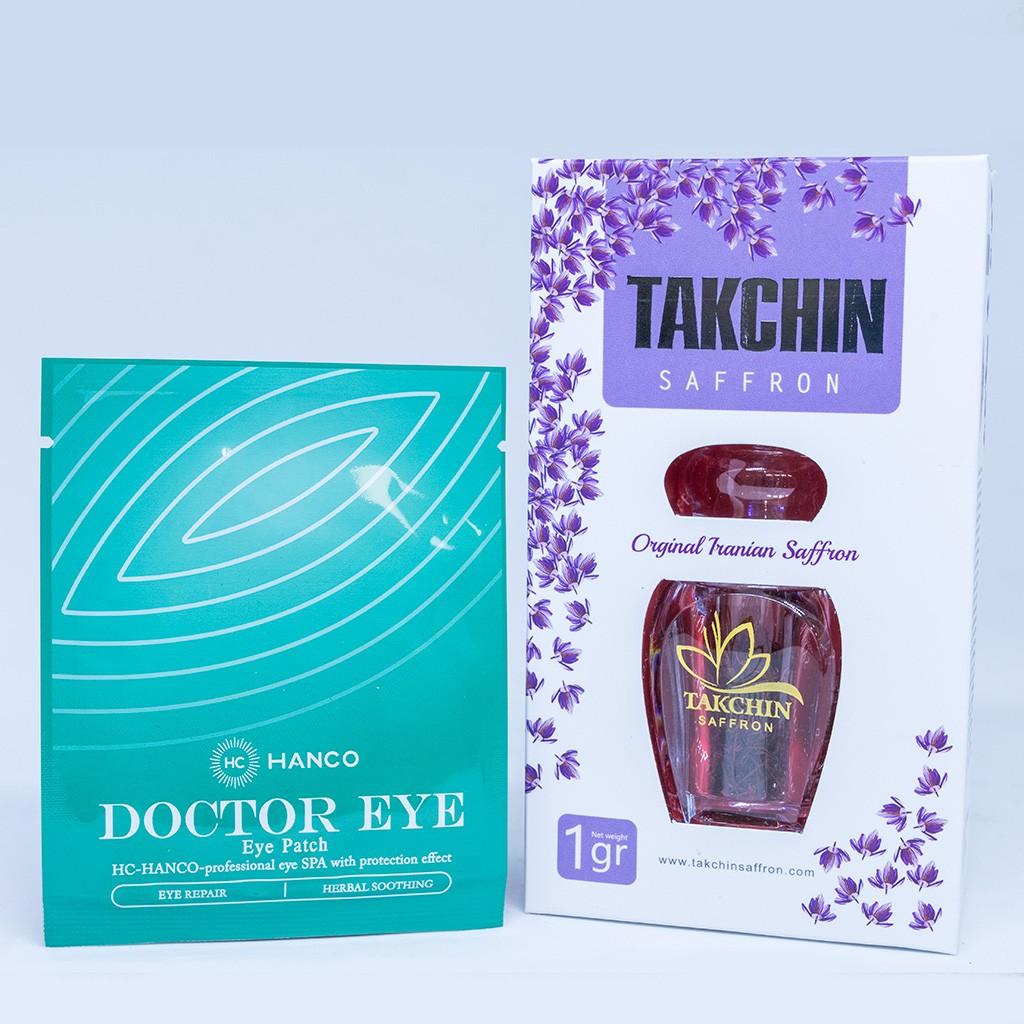 Nhuỵ Hoa nghệ Tây - Saffron Takchin [ Nhập Khẩu Iran ] Tặng 3 Cặp mặt Nạ mắt Doctor Eye