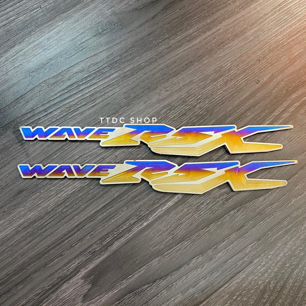 Tem Titan  Cặp chữ Wave Rsx
