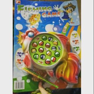 Bộ đồ chơi câu cá chạy pin