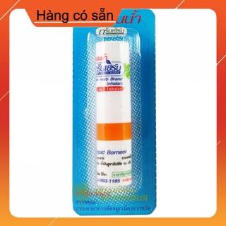 Ống Hít 2 Đầu Green Herb Brand Compound Liquid Borneol Inhalant Xanh Dương [ Hàng có sẵn ] thumbnail