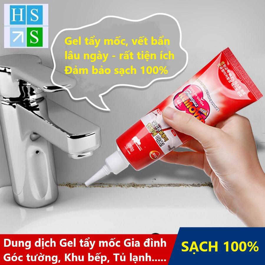 Tuýp Gel tẩy nấm mốc, vết bẩn lâu ngày 150g (Dùng cho Gia đình : Làm sạch  Khu bếp, nhà vệ sinh, kẽ tường, tủ lạnh..) | Shopee Việt Nam