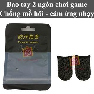 1 cặp Bao tay chơi game chống mồ hôi, găng tay chơi game, bao ngón tay chơi game bắn súng, PUBG, Liên Quân thumbnail