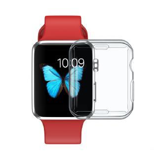 Ốp bảo vệ mặt đồng hồ Apple watch màu trong suốt
