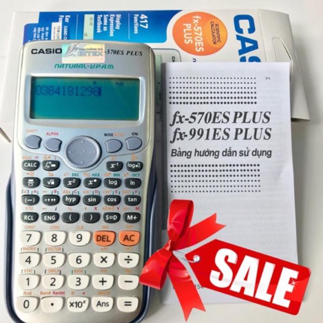 ( lỗi 1 đổi 1) (sỉ cực rẻ) bảo hành 12 tháng- máy tính casio fx570es plus- fx 570es plus