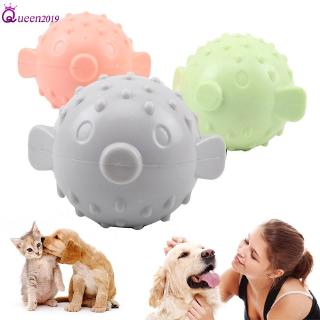 Ready Pet Ball Interactivity Rubber Dog Toy Game Makes Funny Sounds When Touched Queen