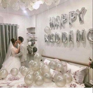 Sét trang trí phòng cưới màu bạc thumbnail