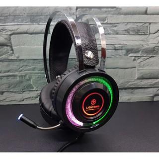 [Mã ELFLASH5 giảm 20K đơn 50K] Tai nghe - Headphone Lightning V6S Led RGB