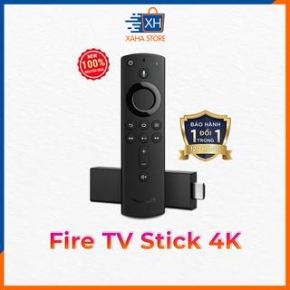Thiết bị Streaming Fire TV Stick 4K (2th generation) kèm Alexa Voice Remote ⚡️ BH 12 tháng