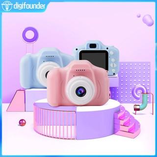 Bộ máy ảnh kỹ thuật số mini màn hình 2 inch kèm phụ kiện dành cho trẻ em