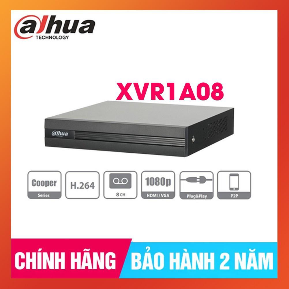 Đầu ghi hình HDCVI/TVI/AHD và IP 8 kênh DAHUA XVR1A08, Hàng Chính Hãng